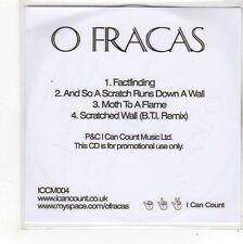 (FN796) O Fracas, Factfinding - DJ CD