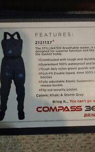 womens compass 360 stillwater waders XL