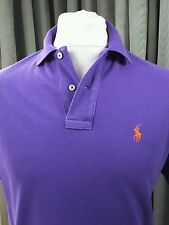Polo by Ralph Lauren Purple Polo Shirt  - Small Chest 36-37""