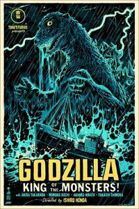 Godzilla Francesco Francavilla Mondo 36x24 Art Print Movie Poster x/225 REGULAR