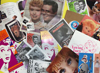 Lucille Ball Collection Of 20 Items Postcards Brochures Matches More I LOVE LUCY