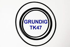 SET BELTS GRUNDIG TK 47 REEL TO REEL EXTRA STRONG NEW FACTORY FRESH TK47