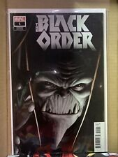 Marvel The Black Order 1 Variant Editon - Comic Book