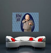 AUSTIN Powers MINI ME CRAZY MOVIE FILM Personaggi Giganti poster stampa x1671