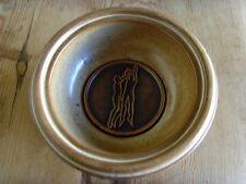 Occasion - CENDRIER BASKET-BALL poterie en terre cuite avec médaille bronze -