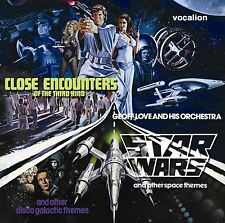 Geoff Love & His Orchestra Star Wars & Close Encounters 1978 disco funk 2-CD set