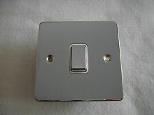 10AMP INTERMEDIATE SWITCH FLAT PLATE POLISHED CHROME AC1419PC G.E.T. ULTIMATE