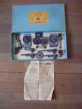 Solido: Rare coffret canons à transformations type C4,d'origine, été 1942