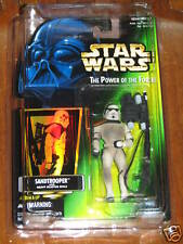 Sandtrooper - Power of the Force (1996 - Collection 3) **Star Wars**  UNOPENED