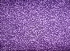 "Purple ""Whats Bugging You"" Quilting Patchwork Cotton Fabric 1/2 metre"