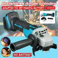 Cordless Angle Grinder Replaces For Makita  18V Li-ion 125mm Brushless Tool