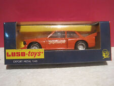 "LUSO-TOYS SUPERBE BMW 320 RACING M-21 ""JAGERMEISTER"" NEUF BOITE  ech 1/43"