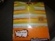 Infant Halloween pumpkin One-Piece Suit 0-3 mo New Baby 1pc Bodysuit Long Slv