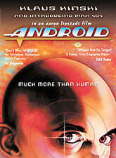 New! Android Cult Classic 80s Sci-Fi Film on Dvd! Klaus Kinski More Than Human