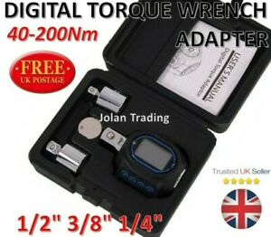 Digital Torque Wrench Adaptor Electronic Digital display 40-200Nm Engine  3547