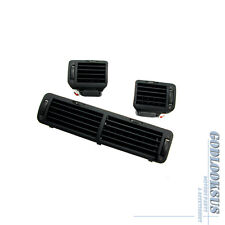 OE Black Front Left & Right & Central Dashboard Air Vent Outlet For VW Passat B5