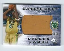 2013-14 SP Authentic LEBRON JAMES Supreme Court Game-Used SVSM Floor 1:432 SC-13