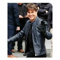 Tom Cruise Mission Impossible 6 Leather Jacket
