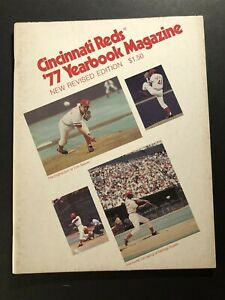 1977 CINCINNATI REDS Official Yearbook PETE ROSE Seaver BENCH Tony PEREZ Morgan