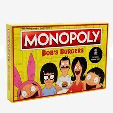 Monopoly BOBS' BURGERS Edition Hot Topic Exclusive KUCHI KOPI TOKEN NEW SEALED
