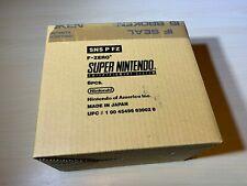 F-Zero Super Nintendo Brand New Sealed Shipment SNES Player's Choice Lot of 6