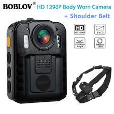 Boblov WN9 Body Worn 1296P Police Camera DVR Infrare +Shoulder Belt Adjustable