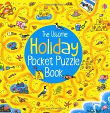 Holiday Pocket Puzzle Book (Pocket Puzzle Books) by Alex Frith