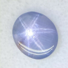 5.42 Ct Untreated 100% Natural Sky Blue ColorChange Star Sapphire Oval Cut MOGOK