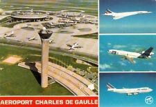PARIS aéroport Charles de Gaulle multivues tour de contrôle aérogare satellites