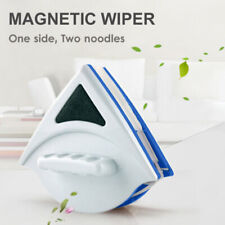 Magnetic Window Double Side Glass Wiper Cleaner Surface Cleaning Brush Tool UK