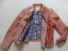 Levi's Biker Jacke Lederjacke, Gr. M, NEU ! Echtes Vintage Leder, Lady Style !