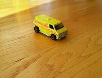 Vintage Hot Wheels Yellow Paramedic Ambulance Super Van