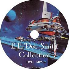 "E. E. ""Doc"" Smith Sci-Fi Audio Book Collection on 1 MP3 DVD Skylark FREE SHIP"