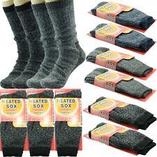 Sox 12 Pairs Men Thermal Winter Super Warm WORK Wool Crew Socks Size 9-13 New