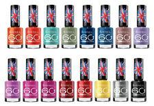 Rimmel 60 Second Nail Polish Brand New- 20 Assorted Shades