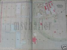 Orig 1905 Brooklyn New York Ny Map Atlas E. Belcher Hyde Bayridge Plate 12