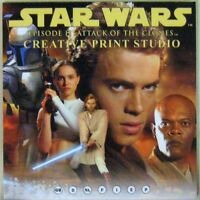 Star Wars CD ROM Attack of the clones 2002