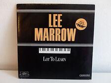 LEE MARROW Lot to learn 14916