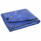 Blue Heavy Duty Tarp Poly Tarpaulin Canopy Tent Shelter Resistant Cover Underlay
