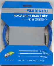 Shimano 105/5800 Tiagra/4700 Road OPTISLICK Coated Shift Cable Housing Set Blue