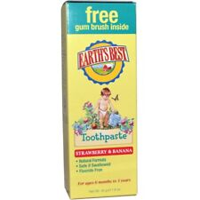 Earth's Best Toothpaste Strawberry & Banana, 1.6 oz / 45 g