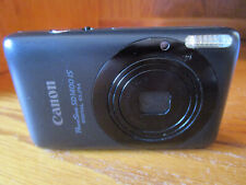 Canon PowerShot ELPH SD1400 IS 14.1MP Digital Camera OEM Charger SD Card  Black