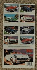 50s Sporty Cars book/sheet of stamps