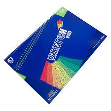 Spiral A3 Blank Plain 90gsm Sketch Art Book 30 Sheet Paper Journal Drawing Pad