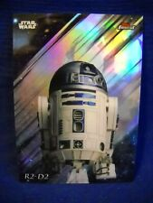 "2018 Topps Star Wars Finest ""Refractor"" #77 R2-D2"