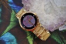Piaget Black Opal, Diamond, Onyx & 18kt Yellow Gold Watch, Vintage, MINT