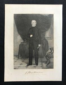 steel engraving Crittenden J. J. John Jordan Compromise Senator Governor Ky