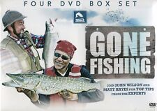 GONE FISHING - JOHN WILSON'S DREAM FISHING & MATT HAYES GREATEST CATCHES 4 DVDs
