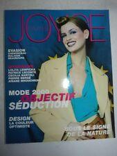 Magazine Revue de mode JOYCE PARIS #80 mars 2000 supplément