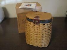 New  Longaberger 2003 Collectors Club 5Yr. Anniversary Basket Set
